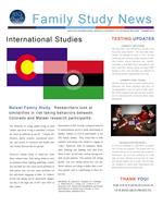 Family Study News